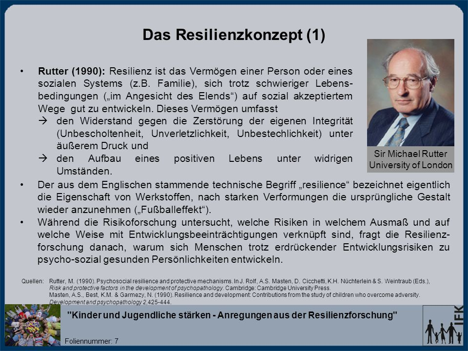 Das Resilienzkonzept (1)