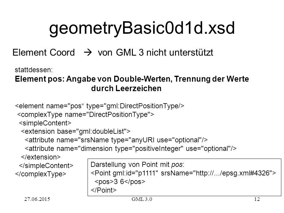 geometryBasic0d1d.xsd Element Coord  von GML 3 nicht unterstützt