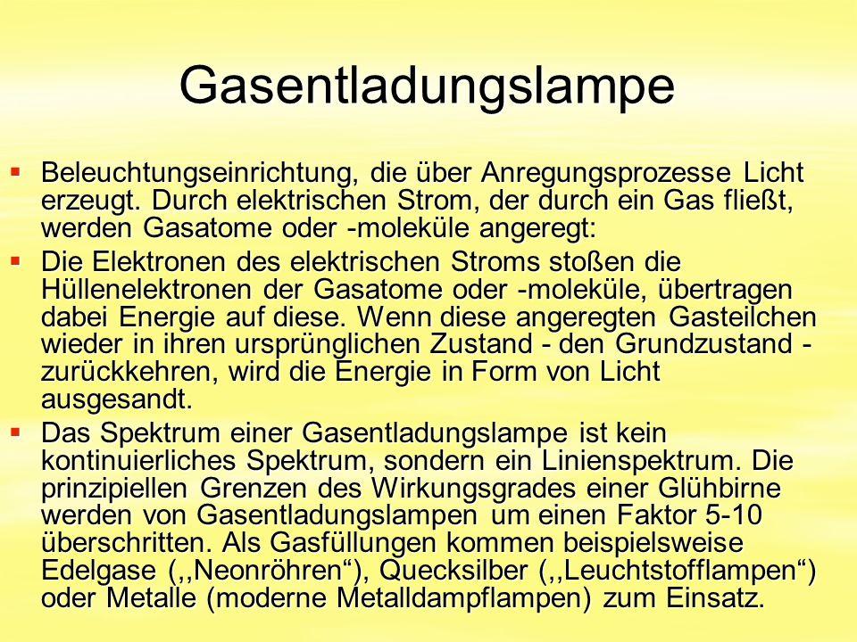 Gasentladungslampe