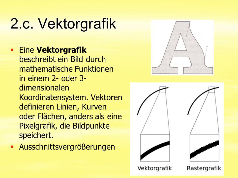 2.c. Vektorgrafik
