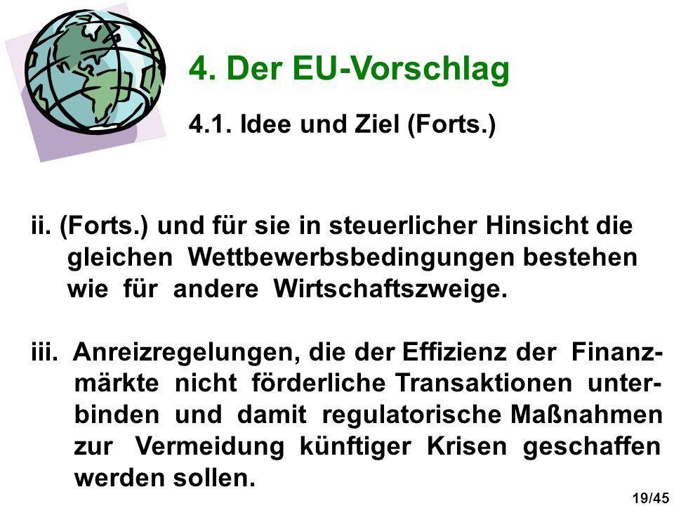 4. Der EU-Vorschlag 4.1. Idee und Ziel (Forts.)