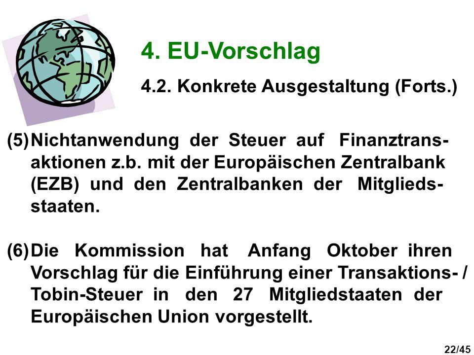 4. EU-Vorschlag 4.2. Konkrete Ausgestaltung (Forts.)