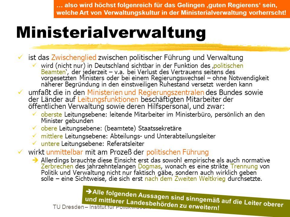 Ministerialverwaltung