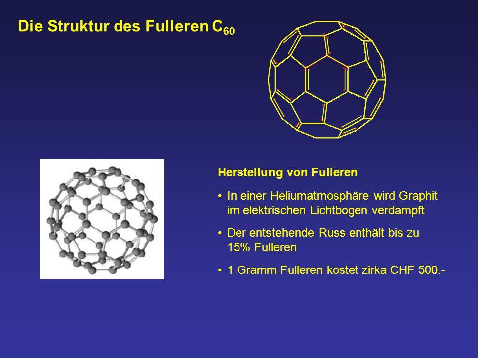 Die Struktur des Fulleren C60