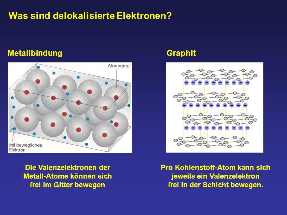 Was sind delokalisierte Elektronen