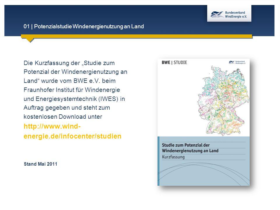 01 | Potenzialstudie Windenergienutzung an Land