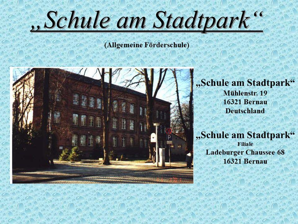 """Schule am Stadtpark ""Schule am Stadtpark ""Schule am Stadtpark"