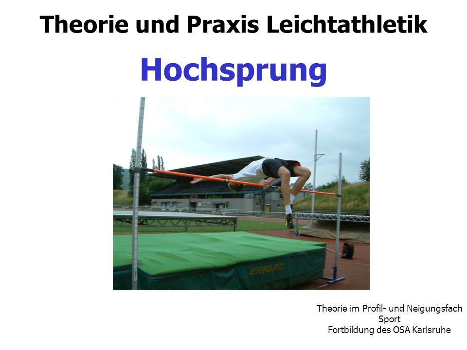 Theorie und Praxis Leichtathletik