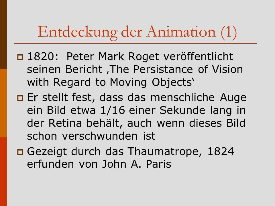 Entdeckung der Animation (1)
