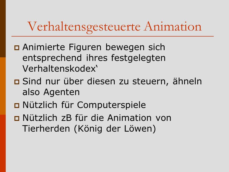 Verhaltensgesteuerte Animation