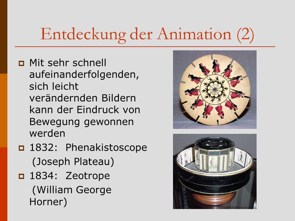 Entdeckung der Animation (2)