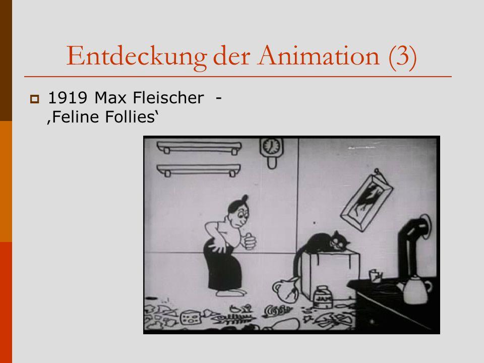 Entdeckung der Animation (3)