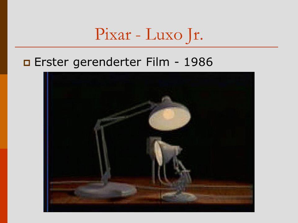 Pixar - Luxo Jr. Erster gerenderter Film - 1986