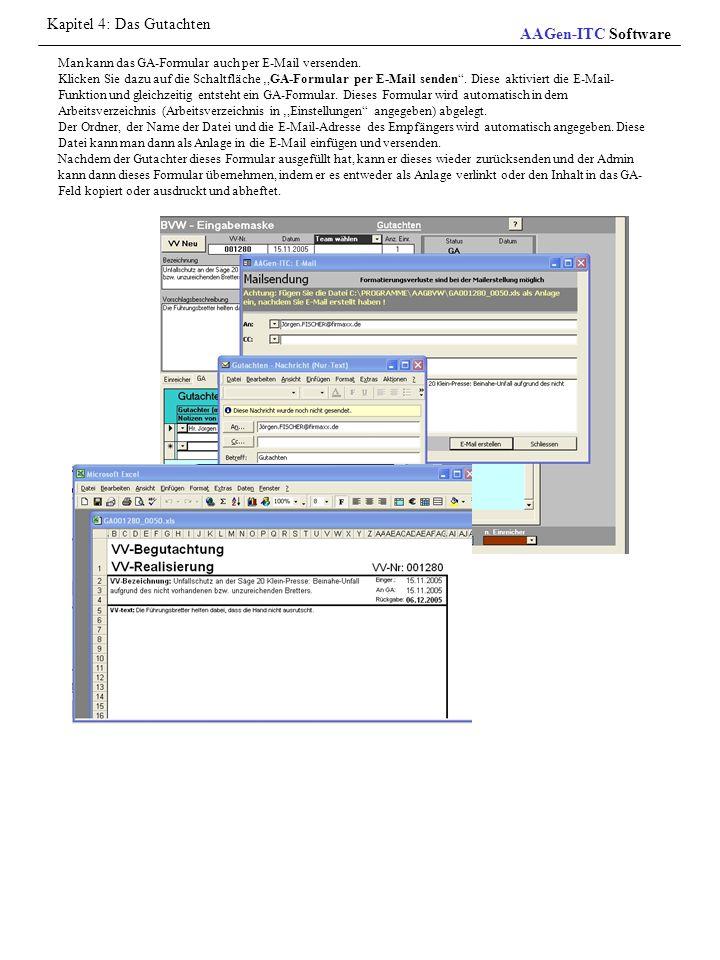 Kapitel 4: Das Gutachten AAGen-ITC Software