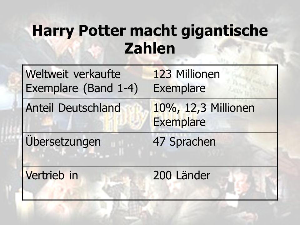 Harry Potter macht gigantische Zahlen