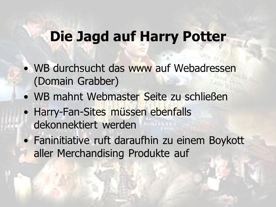 Die Jagd auf Harry Potter