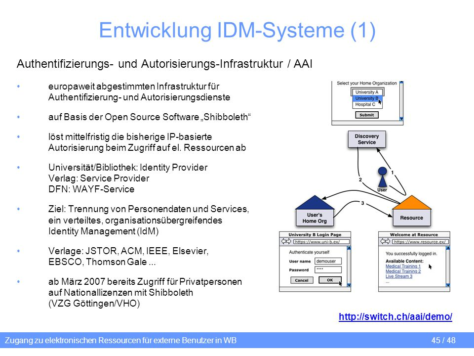 Entwicklung IDM-Systeme (1)
