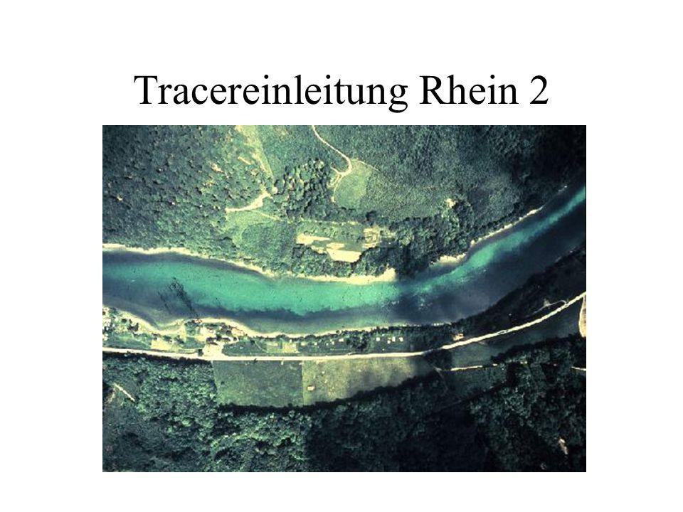 Tracereinleitung Rhein 2