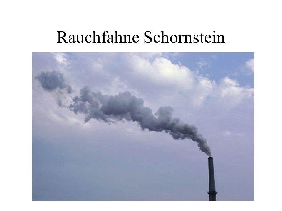 Rauchfahne Schornstein