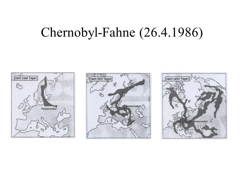 Chernobyl-Fahne (26.4.1986)