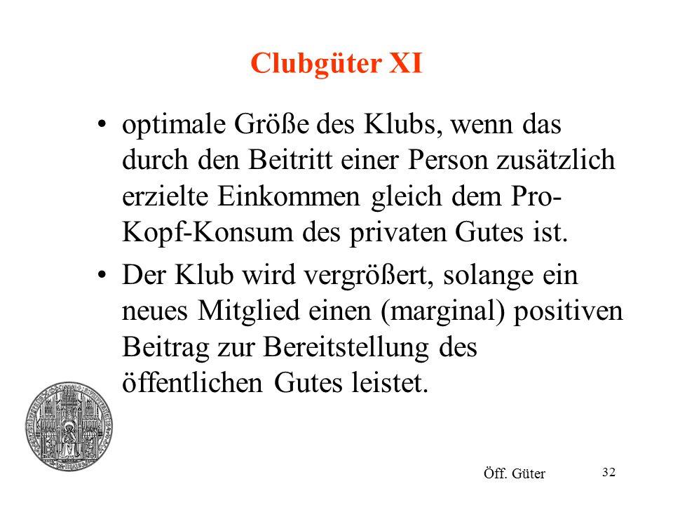 Clubgüter XI