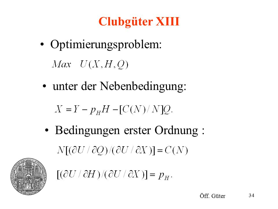 Optimierungsproblem: