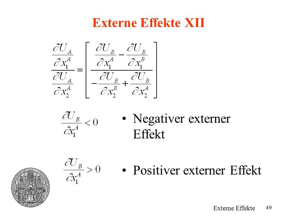 Negativer externer Effekt