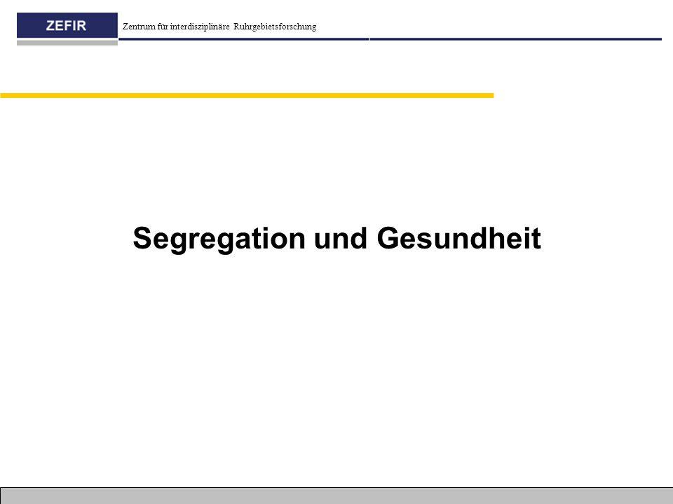 Segregation und Gesundheit