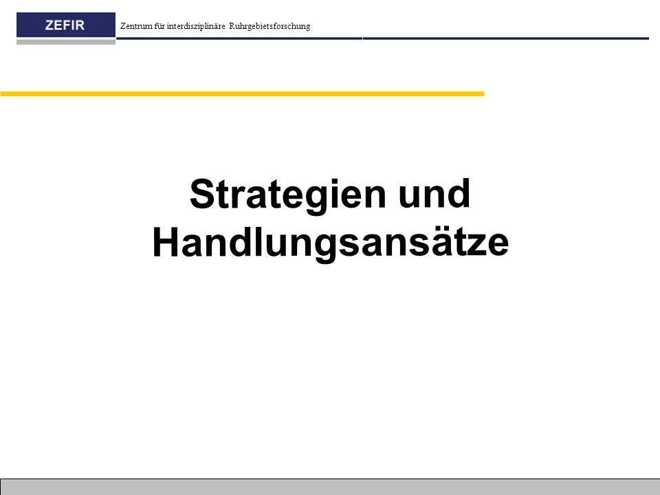 Strategien und Handlungsansätze