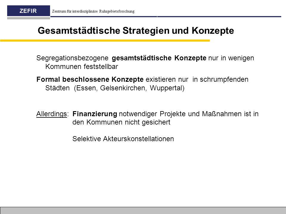 Gesamtstädtische Strategien und Konzepte
