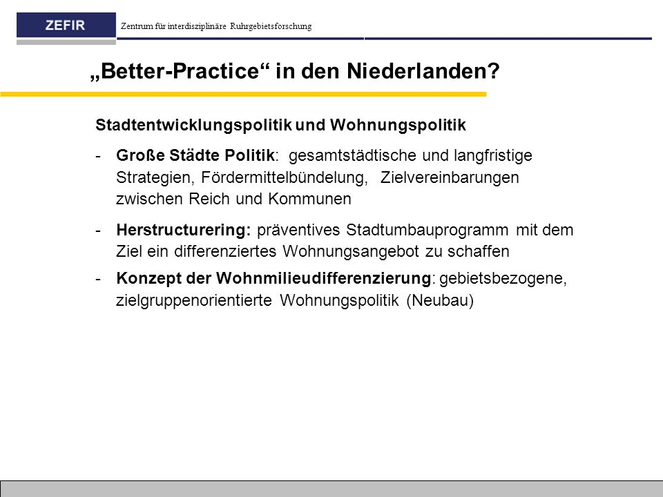 """""""Better-Practice in den Niederlanden"""