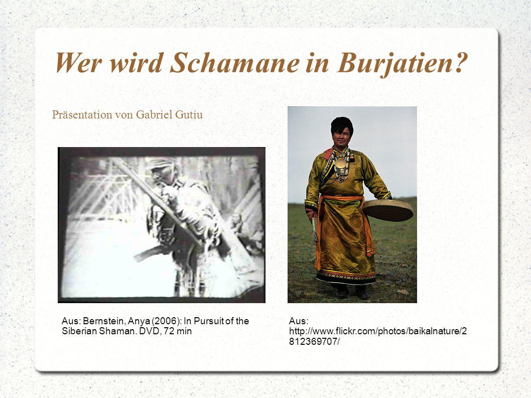 Wer wird Schamane in Burjatien