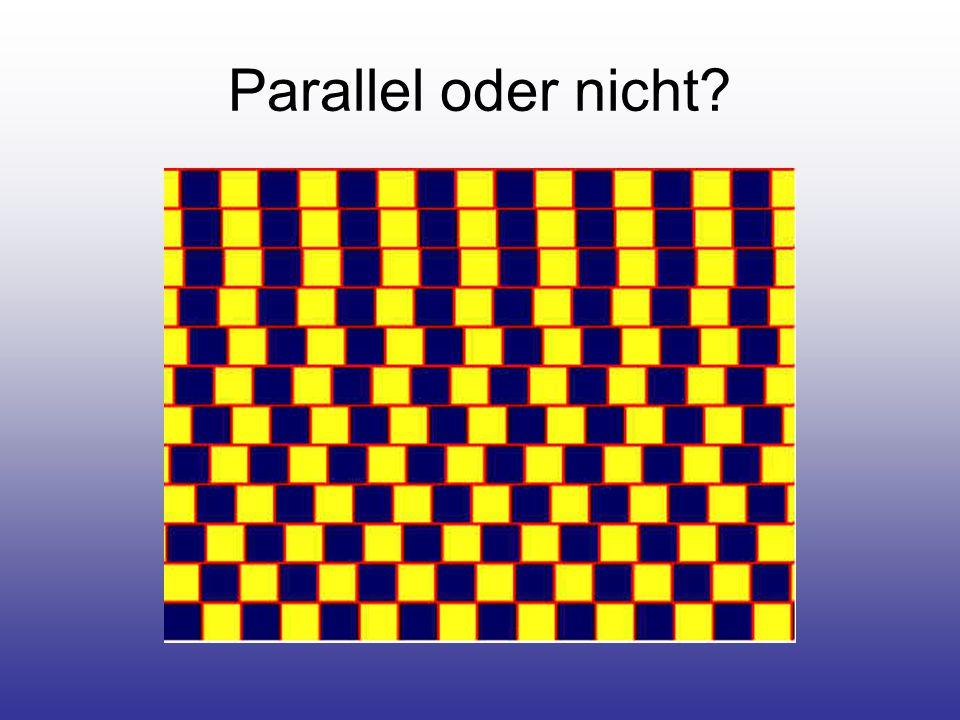 Parallel oder nicht