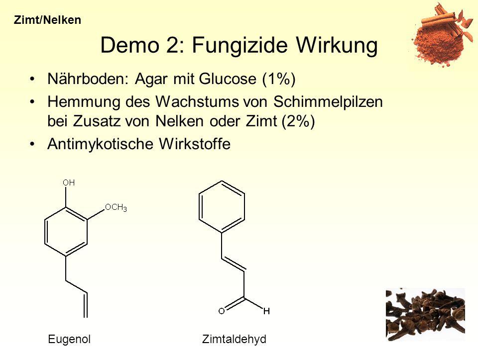 Demo 2: Fungizide Wirkung