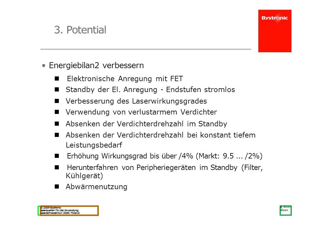 3. Potential • Energiebilan2 verbessern Elektronische Anregung mit FET