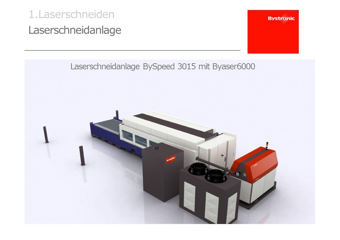 Laserschneidanlage BySpeed 3015 mit Byaser6000