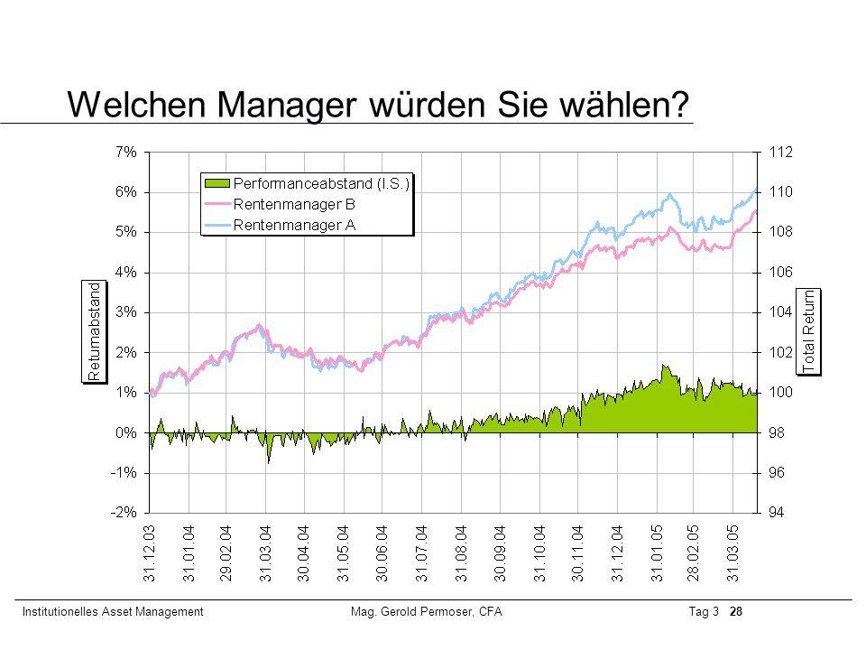 Welchen Manager würden Sie wählen