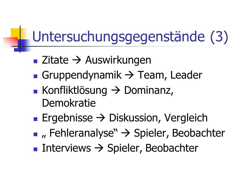 Untersuchungsgegenstände (3)