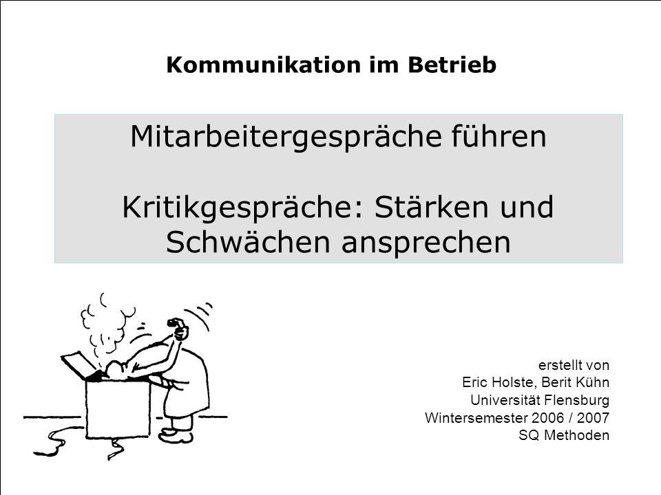 Kommunikation im Betrieb