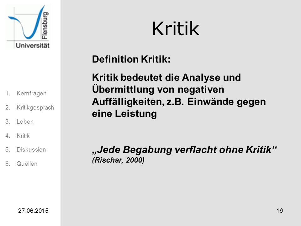 Kritik Definition Kritik: