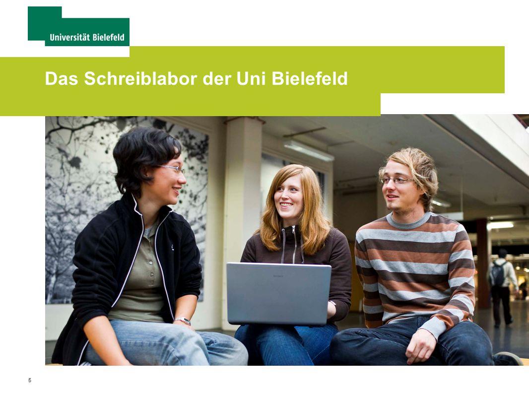 Das Schreiblabor der Uni Bielefeld