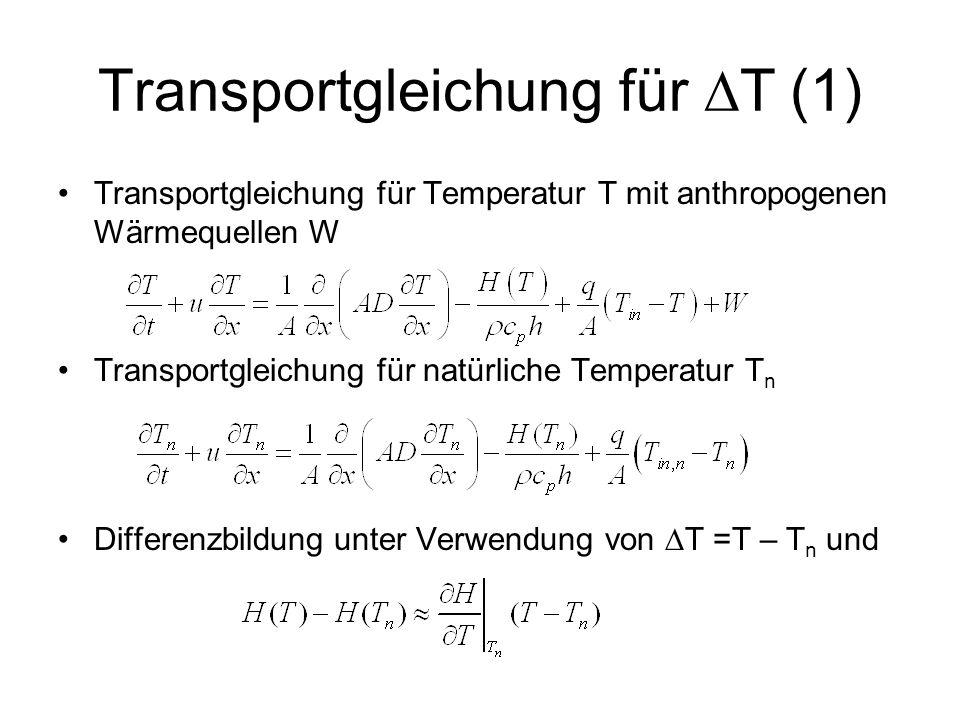 Transportgleichung für DT (1)