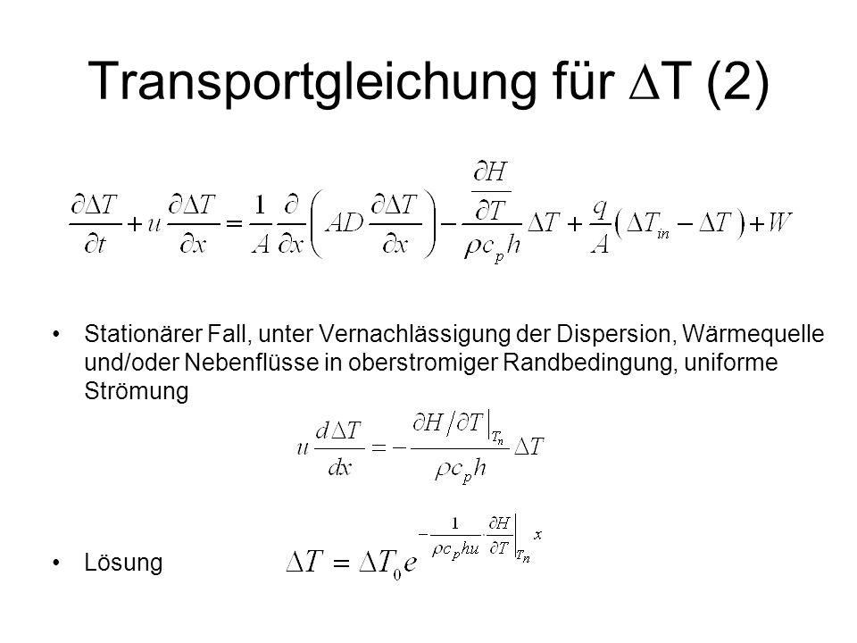 Transportgleichung für DT (2)