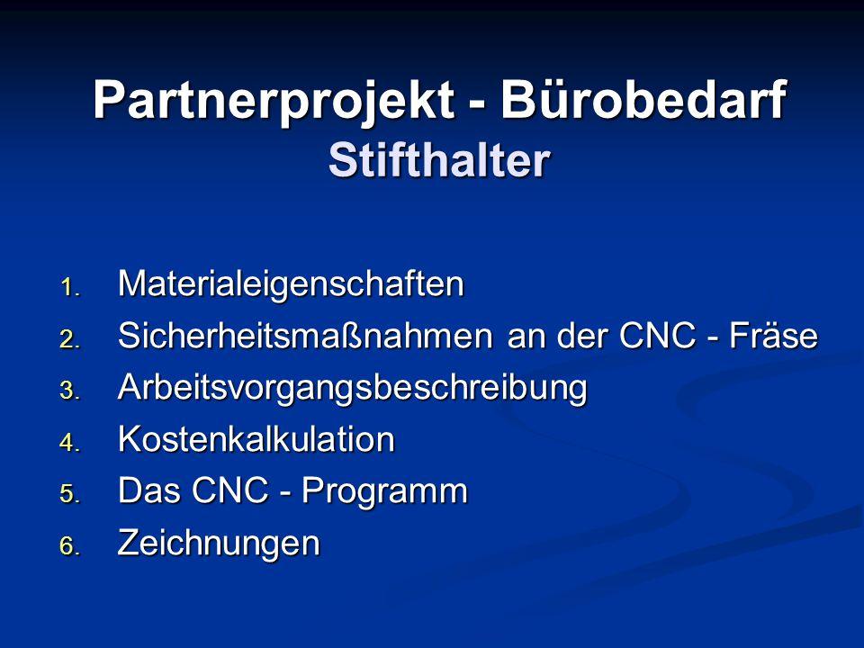 Partnerprojekt - Bürobedarf Stifthalter
