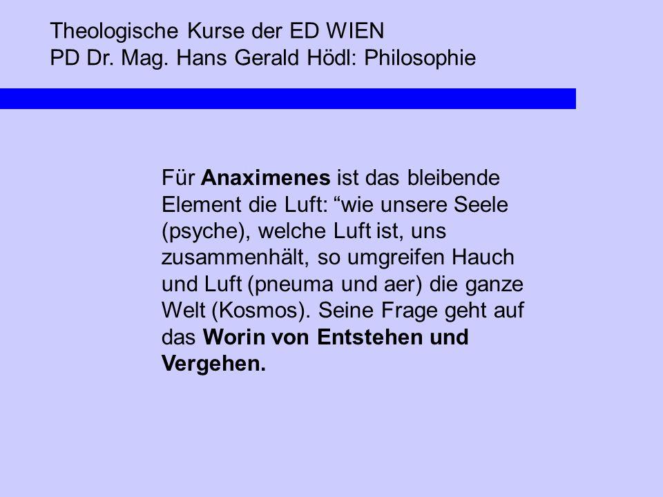 Theologische Kurse der ED WIEN