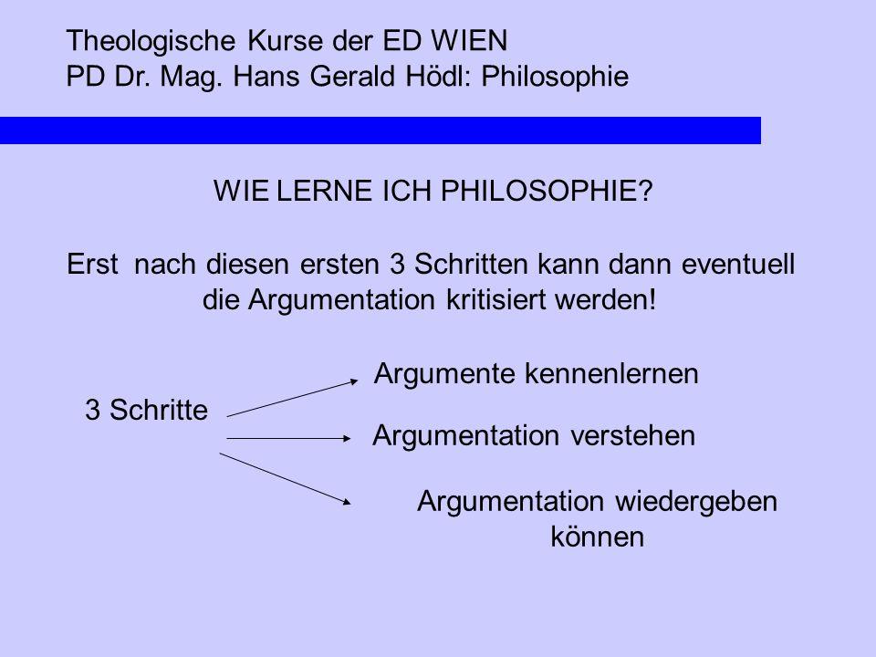Argumentation wiedergeben können