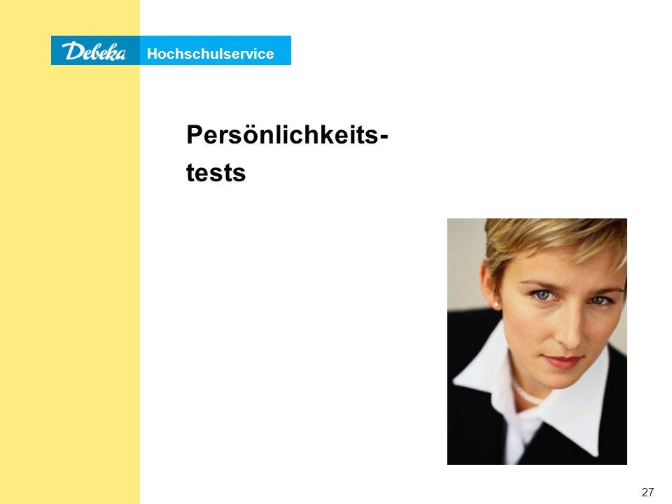Persönlichkeits- tests
