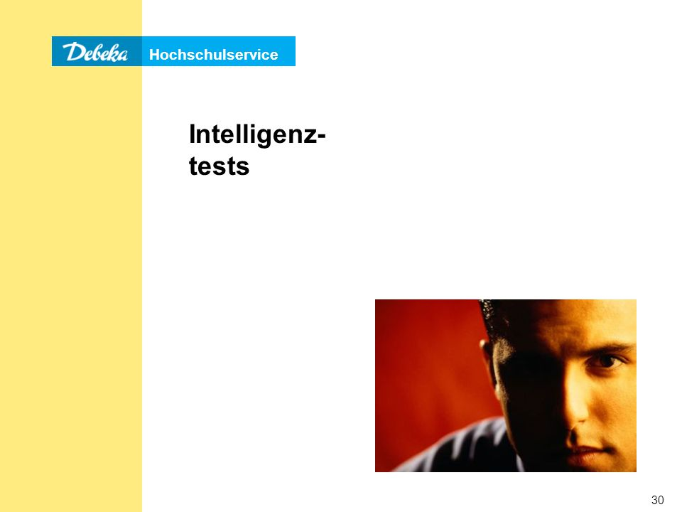 Intelligenz- tests