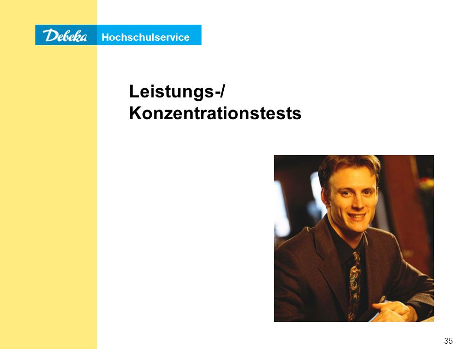 Leistungs-/ Konzentrationstests
