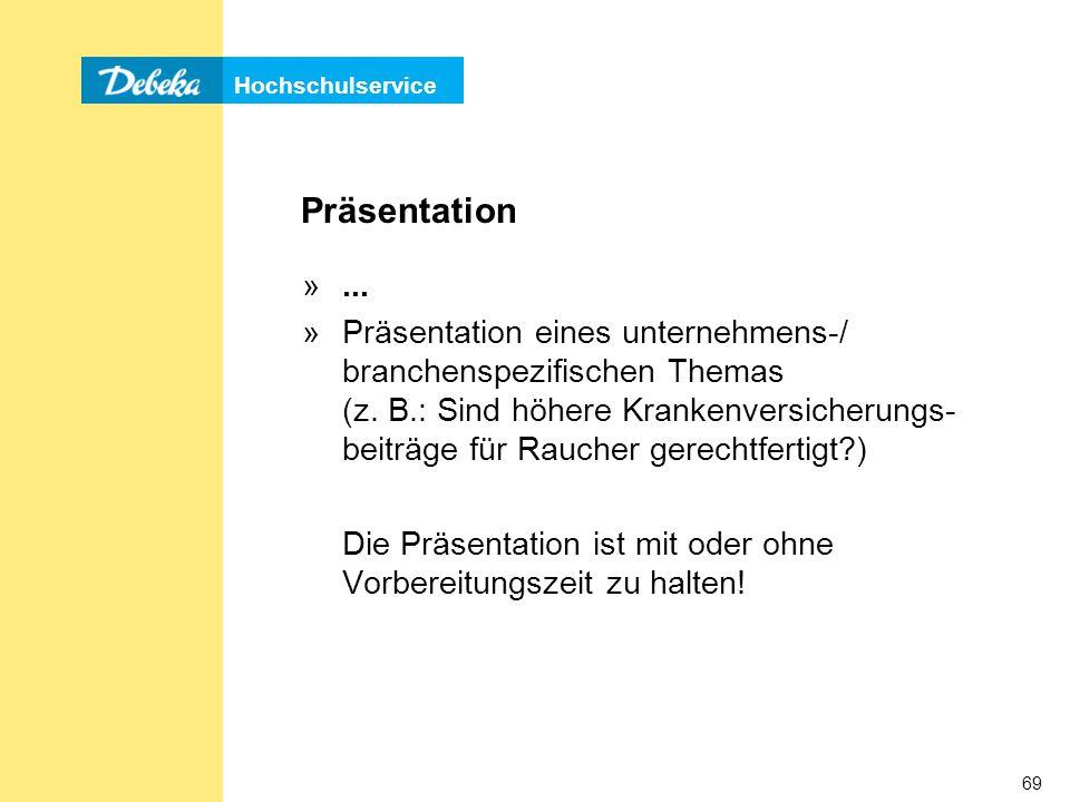 Präsentation ...